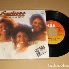 Discos de vinilo: EMOTIONS - LO MEJOR DE MI AMOR (BEST OF MY LOVE) - SINGLE - 1977. Lote 112474931