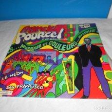 Discos de vinilo: FRANCK POURCEL MUSIQUE ET COULEURS MUSICA EN COLORES LP 1968 LA VOZ DE SU AMO ESPAÑA SPAIN. Lote 112482527
