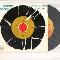 Discos de vinilo: BANDA MACHO PICK UP THE PIECES CBS 1975. Lote 112485251
