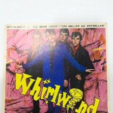 Discos de vinilo: WHIRLWIND: DON´T BE CRAZY / A THOUSAND STARS. Lote 112486139