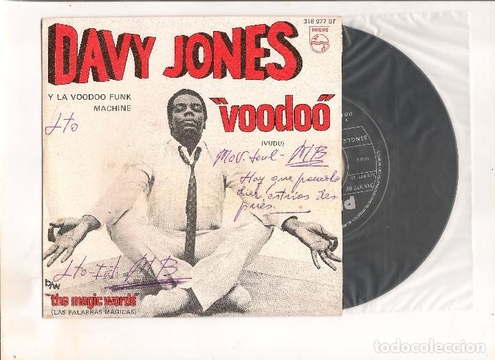 DAVY JONES VOODOO PHILIPS 1969 (Música - Discos - Singles Vinilo - Funk, Soul y Black Music)
