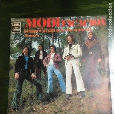 Discos de vinilo: MODIFICACION SG LLEGARA EL DIA QUE ME QUIERAS. Lote 112492231