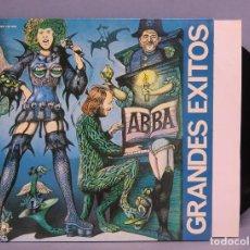Discos de vinilo: LP. GRANDES EXITOS. ABBA. Lote 112493055