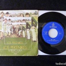 Discos de vinilo: LOS PEKENIKES. EL TIEMPO VUELA, ARIA. SINGLE HISPAVOX, 1969. Lote 112513123