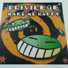 Discos de vinilo: PRIVILEGE - MAKE ME HAPPY. Lote 112513468