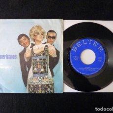 Discos de vinilo: LOS 3 SUDAMERICANOS. CÁNDIDA, NACIÓ NAZARENO. SINGLE BELTER, 1970. Lote 112513751