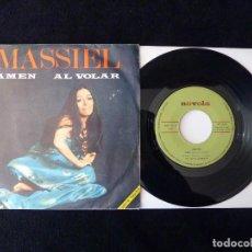 Discos de vinilo: MASSIEL. AMEN, AL VOLAR. SINGLE NOVOLA, 1969. Lote 112514891