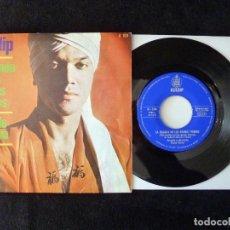 Discos de vinilo: KULDIP. LA BALADA DE LOS BOINAS VERDES, OJOS DE ESPAÑA. SINGLE HISPAVOX, 1961. Lote 112516535