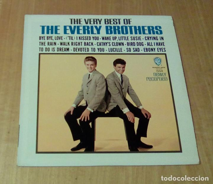 THE EVERLY BROTHERS - THE VERY BEST OF THE EVERLY BROTHERS (LP 1964, WARNER BROS. W 1554) (Música - Discos - LP Vinilo - Rock & Roll)