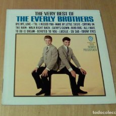 Discos de vinilo: THE EVERLY BROTHERS - THE VERY BEST OF THE EVERLY BROTHERS (LP 1964, WARNER BROS. W 1554). Lote 112522391