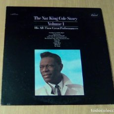 Discos de vinilo: NAT KING COLE - THE NAT KING COLE STORY VOLUME 1 (LP CAPITOL SN 16033). Lote 112524363