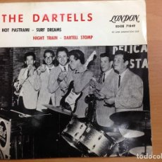 Discos de vinilo: EP EDITADO EN ESPAÑA COLUMBIA THE DARTELLS / HOT PASTRAMI/SURF DREAMS /NIGHT TRAIN/DARTELL STOMP. Lote 112535643