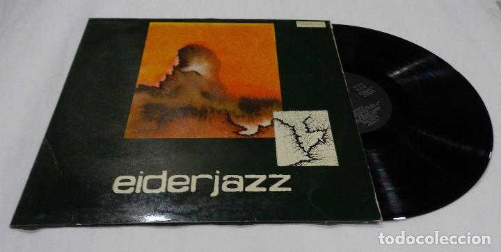 EIDERJAZZ LP 1981 + ENCARTE DONOSTI (Música - Discos de Vinilo - EPs - Jazz, Jazz-Rock, Blues y R&B)