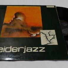 Discos de vinilo: EIDERJAZZ LP 1981 + ENCARTE DONOSTI. Lote 112538027