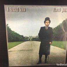 Discos de vinilo: ELTON JOHN - A SINGLE MAN - LP. Lote 112538792