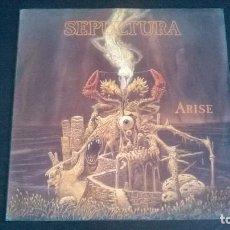 Discos de vinilo: SEPULTURA: ARISE - LP (1991). Lote 112541687