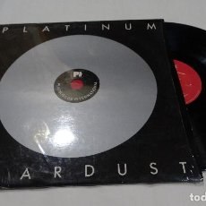 Discos de vinilo: LP PLATINUM-STARDUST- ELVIS PRESLEY- JERRY LEE LEWIS- CHUCK BERRY- MARILYN MONROE -FRANK SINATRA-. Lote 112542551