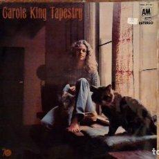 Discos de vinilo: CAROLE KING -TAPESTRY- LP 1971 A&M SPAIN. Lote 246274355