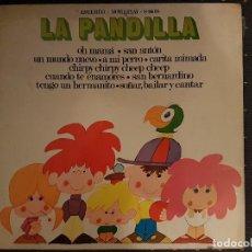 Discos de vinilo: LA PANDILLA - CANCIONES INFANTILES LP. Lote 112554331