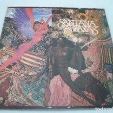 Discos de vinilo: SANTANA - ABRAXAS 1970, RARA 1ª ORG EDT UK, EXC. Lote 112557919