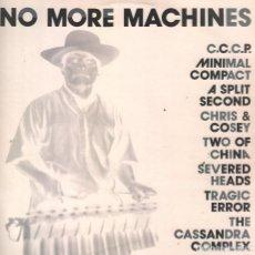 Discos de vinilo: NO MORE MACHINES, MINIMAL COMPACT, A SPLIT SECOND, CHRIS & COSEY,...DOBLE LP DE 1990 RF-4563 . Lote 112563543