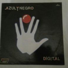 Discos de vinilo: LP: AZUL Y NEGRO, DIGITAL.. Lote 112564702