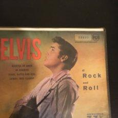 """Discos de vinilo: ELVIS PRESLEY """"ASUNTOS DE AMOR"""", """"MI DINERITO"""". Lote 112569974"""