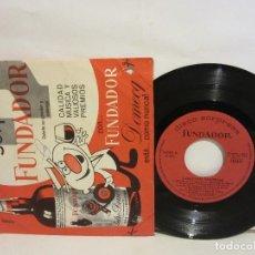 Discos de vinilo: REGOLÍ Y SU ORQUESTA CANTA RAUL NAVARRO - CANCIONES FAVORITAS - EP - 1965 - VG/G. Lote 221756070