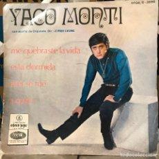 Discos de vinilo: EP ARGENTINO DE YACO MONTI. Lote 112573379