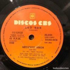 Discos de vinilo: SENCILLO ARGENTINO DE LEO DAN AÑO 1978. Lote 112573459