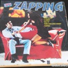 Discos de vinilo: ZAPPING - DOBLE LP KONGA MUSIC SPAIN 1994 . Lote 112573551