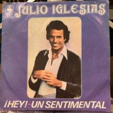 Discos de vinilo: DOS SENCILLOS ARGENTINOS DE JULIO IGLESIAS. Lote 57655251