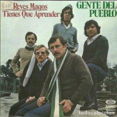 Discos de vinilo: GENTE DEL PUEBLO. SINGLE. SELLO MOVIEPLAY. EDITADO EN ESPAÑA. AÑO 1979. Lote 112610259