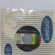 Discos de vinilo: SINGLE ** PATSY CLINE ** FADED LOVE ** COVER/ GENERIC ** SINGLE/ MINT ** . Lote 112616663