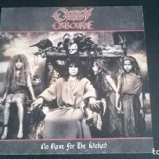 Discos de vinilo: OZZY OSBOURNE: NO REST FOR THE WICKED - LP (1988). Lote 112618547