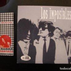 Discos de vinilo: LOS IMPOSIBLES- QUE VAS A HACER MUÑECA. EP.. Lote 112620227