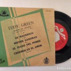 Discos de vinilo: EDDY GREEN - PRINICPE DEL ORGANO - EL MAGNIFICO + 3 / EP HISPAVOX HF 3710 - 1959. Lote 112620531