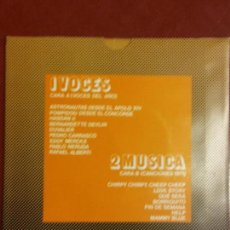 Discos de vinilo: BJS.. DISCO PROMOCIONAL VOCES Y MUSICA. DISCO DE VINILO. SINGLE,. Lote 112620859