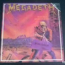 Discos de vinilo: MEGADETH: PEACE SELLS... BUT WHO'S BUYING? - LP (1986). Lote 112621915