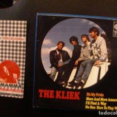 Discos de vinilo: THE KLIEK- IT´S MY PRIDE. Lote 112626287