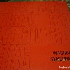 Discos de vinilo: THE WASHBOARD SYNCOPATORS - 1973 LP - ORIGINAL INGLES - PRENSAJE PRIVADO . 1973 STEREO -. Lote 112632043