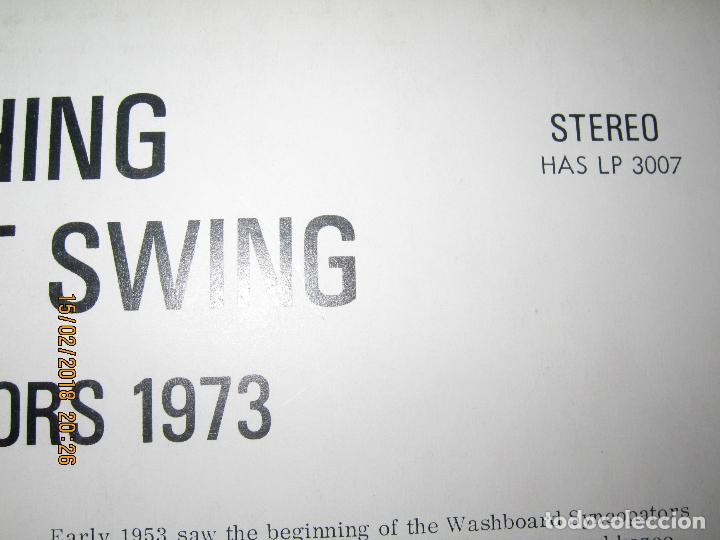 Discos de vinilo: THE WASHBOARD SYNCOPATORS - 1973 LP - ORIGINAL INGLES - PRENSAJE PRIVADO . 1973 STEREO - - Foto 4 - 112632043