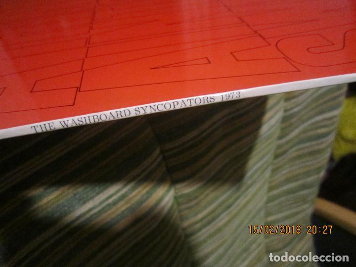Discos de vinilo: THE WASHBOARD SYNCOPATORS - 1973 LP - ORIGINAL INGLES - PRENSAJE PRIVADO . 1973 STEREO - - Foto 5 - 112632043