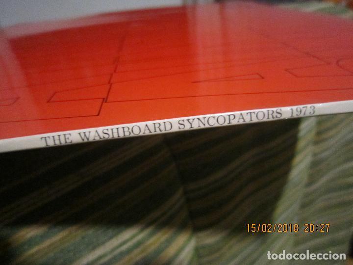 Discos de vinilo: THE WASHBOARD SYNCOPATORS - 1973 LP - ORIGINAL INGLES - PRENSAJE PRIVADO . 1973 STEREO - - Foto 6 - 112632043
