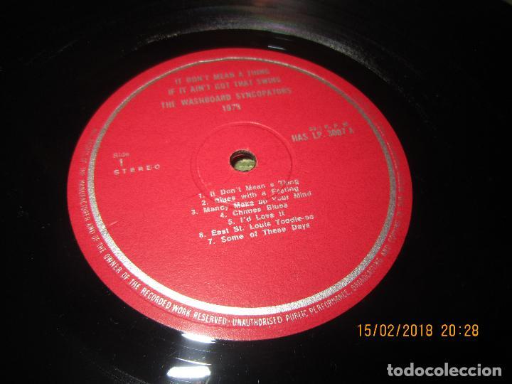 Discos de vinilo: THE WASHBOARD SYNCOPATORS - 1973 LP - ORIGINAL INGLES - PRENSAJE PRIVADO . 1973 STEREO - - Foto 10 - 112632043