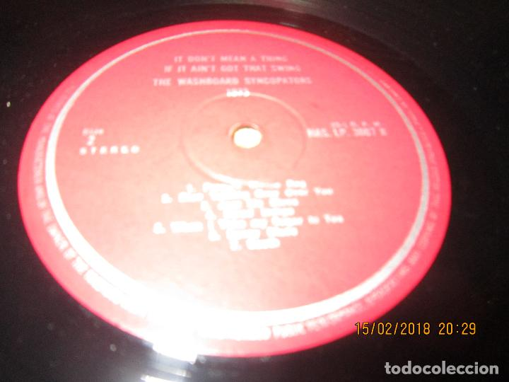 Discos de vinilo: THE WASHBOARD SYNCOPATORS - 1973 LP - ORIGINAL INGLES - PRENSAJE PRIVADO . 1973 STEREO - - Foto 15 - 112632043