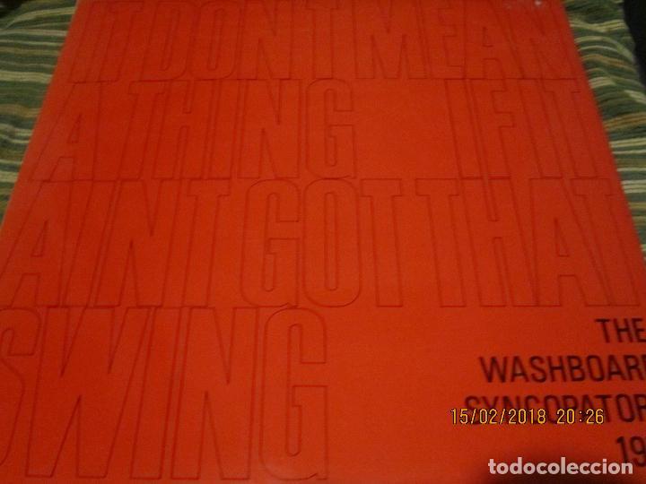 Discos de vinilo: THE WASHBOARD SYNCOPATORS - 1973 LP - ORIGINAL INGLES - PRENSAJE PRIVADO . 1973 STEREO - - Foto 16 - 112632043