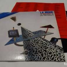 Discos de vinilo: LA MODE - LA EVOLUCIÓN DE LAS COSTUMBRES- LP 1985. Lote 112638515