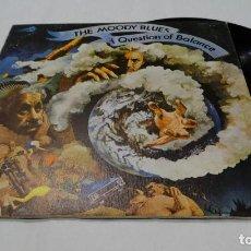 Discos de vinilo: THE MODDY BLUES -A QUESTION OF BALANCE LP 1978. Lote 112646507