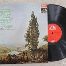 Discos de vinilo: SCHUMANN SYMPHONY N.3 OTTO KLEMPERER LP VINYL MADE IN SPAIN 1971. Lote 112649191